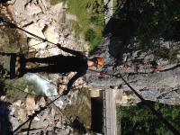 Abenteuer Outdoor - Klettersteig und Canyoning - Schuljahr 2016/2017