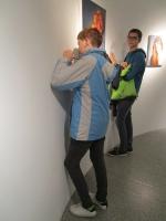 Ausstellung Gottfried Leitner - Klasse 5b - Schuljahr 2017/2018