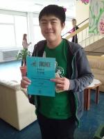 Gewinner Pangea- und Känguru-Wettbewerb - Schuljahr 2015/2016