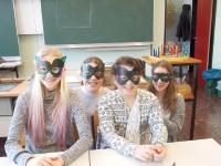 Masken - Klasse 2a - Schuljahr 2016/2017