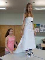 Mode aus Papier - Klasse 4a - Schuljahr 2014/2015