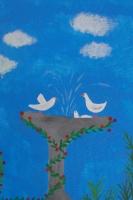 Pompeii Wandmalereien - Klassen 5ab - Schuljahr 2015/2016