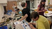 Robotik Platinen erstellen - Klasse 3 - Schuljahr 2016/2017